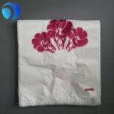 [هدب] [ت-شيرت] [شوبّينغ بغ] أبيض بلاستيكيّة