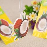 ココナッツにおいの紙カード(YH-AF240)が付いているハングの芳香剤のパッキング