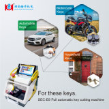 Car single Sided Tubular and dimples key Cutting Machine