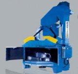 Giradiscos tranvía Granallado Máquina Ce certificado ISO9001