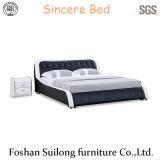현대 디자인 가죽 침대 Ys7018