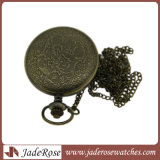 Form-Uhr-Legierungs-Pocket Uhr-Halsketten-Ketten-Geschenk
