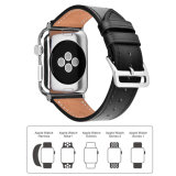 Tira de bracelete em pele genuína para Apple Assista Series 1/2/3 banda de Loop