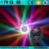 Hawkeye Cabezal movible LED de alta potencia de 19*15W RGBW 4 en 1 LED de luz de la cabeza en movimiento