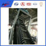 Convoyeur à bande d'acier inoxydable en acier et de traiter matériel en vente chaude