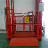 Qualitäts-hydraulische an der Wand befestigte Ladung-Aufzug-/Führungsleiste-Aufzug-Plattform