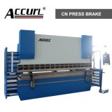 Freno idraulico della pressa di CNC dell'acciaio di Wc67y, CNC della macchina piegatubi del piatto, piegamento del metallo