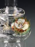 Tubos de cristal al por mayor soplados mano de cristal del tubo de agua del tabaco que fuman embriagador en la cachimba común
