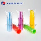 copo bebendo plástico de 8oz Néon-Rosa