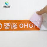 El precio bajo el logotipo de la impresión de etiquetas autoadhesivas roll sticker