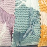 綿は女性の服のホーム織物のためのジャカードポリエステルファブリックを染めた