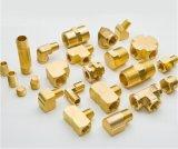 Dispositivo de comunicação de giro de bronze do CNC do adaptador da peça do eixo da precisão