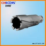 Acero de alta velocidad el orificio de perforación de núcleo con 75mm de profundidad