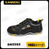 Segurança Industrial Calçado com sola de borracha/PU (SN5592)