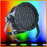 54*3W RGBW lautes Summen im Freiennennwert Licht