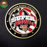 Производитель Facotry Custom металлические латунные монеты для Super чаша