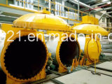 Autoclave industriel pour la brique d'AAC