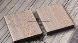 Decking de madera artificial al aire libre WPC de la coextrusión del suelo de 25m m WPC