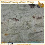 川の台所または浴室のカウンタートップまたは虚栄心の上およびフロアーリングまたはタイルのための白い花こう岩の平板