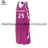 Самым новым подгонянные Sportswear формы баскетбола сублимации Джерси баскетбола для девушок