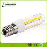 Bulbo do milho do diodo emissor de luz do poder superior 500lm 7W E14 SMD 2835 com base cerâmica