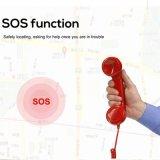 Braccialetto astuto di frequenza cardiaca di chiamata di telefono di Bluetooth SOS