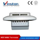 Steuerung 2-Position mit Fühler-elektrischem Fußboden-Heizungs-mechanischem bimetallischem Raum-Thermostat (WST-6000)