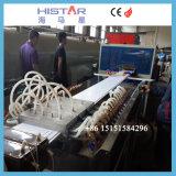Forro de PVC tornando a máquina com o extrusor 55/120