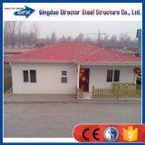 싼 가벼운 강철 휴대용 Prefabricated 강철 구조물 가족 살아있는 집