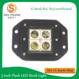 4 '' 16W E-MARK LED lumière de travail, imperméable à l'extérieur hors route, VTT, camion, Jeep accessoires de voiture