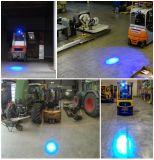 Lámpara del coche de la luz de seguridad que advierte la luz azul