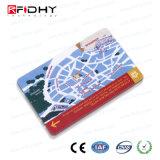 Bilhete de papel da proximidade 13.56MHz RFID para o transporte