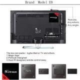 S905X 쿼드 코어를 가진 디지털 인공 위성 수신 장치 인조 인간 텔레비젼 상자 E8