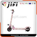 2つの車輪によって折られる電気スクーター、Ce/FCC/RoHSの電気蹴りのスクーター
