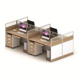 Le personnel de 2 personnes diviseur moyen pour le bureau de poste de travail de l'armoire
