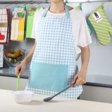 100% algodón decorativo completo impreso delantal para taller de cocina