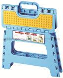 Sgabello di punto piegante antisdrucciolevole di massaggio di plastica esterno della Camera (GNC-270-2)