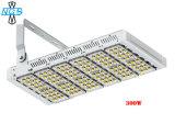Alojamento prata Chip Plps Meanwell Holofote LED Modular 150W
