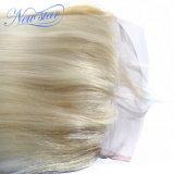 Frontal человеческих волос 613 блондинк прифронтовой прямой