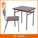 Großhandelspreis-Schulmöbel-vollständiger Set-Metallschreibtisch und -stuhl