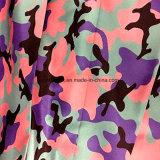 Tessuto della pelle della pesca della saia con W/R per gli indumenti