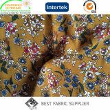 Dress Skirt Pants Fabric de la impresión de la fuente de la fábrica del plisado de la tela de señora Chiffon popular