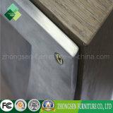 Tabella pranzante superiore di legno del blocco per grafici all'ingrosso dell'acciaio inossidabile da vendere