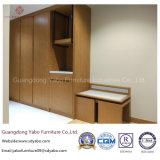Mobília de bambu contemporânea do quarto do hotel com base dobro (YB-O-76)