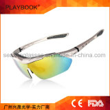 Visão elevada polar dos vidros UV400 do olho da engrenagem de Sun do brilho do Myopia que dá um ciclo conduzindo óculos de sol do esporte ao ar livre