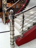 Moulage de haute qualité en acier inoxydable de rampes à main