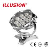indicatore luminoso subacqueo diretto della fabbrica IP68 LED di 12W 18W