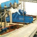 채광 기계에 있는 기계를 재생하는 큰 수용량 과료 실리카 모래