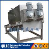 Prensa de filtro de desecación del lodo de rosca para el separador del sólido-líquido de las aguas residuales de la industria