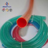 Boyau de tissu-renforcé de l'eau de PVC d'Anti-Produit chimique coloré de bonne qualité